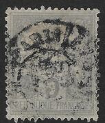 1877-1900 France Stamp- Pax And Mercur - 3 C Cx6