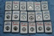 Canada 20 For 20 Silver Coin Set Ngc Sp69 Legal Tender Coin Is Sp70