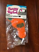 Vintage Dime Store Toys Funny Big Foot Car Decoration New In Sealed Pack