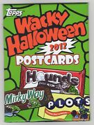 2012 Topps Wacky Packages Halloween Postcards Series 7 Factory Sealed Set