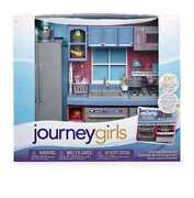 Journey Girls Gourmet Kitchen Set 100 Pcs Fits 18 Our Generation American Doll