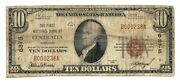 Centralia, Missouri Mo 10 National Bank Note, 1929 Series, Type 1, Ch. 6875