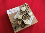 Upgrade Prewired Wiring Kit Fits Gibson Epiphone Sg 3 Pick Up Short Shaft Pots