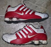 Womens Nike Shox Nz Sneakers White/valentines Day Red 314561-166 Us8 Ultra Rare