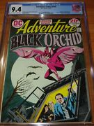 Adventure Comics 428 - Cgc 9.4 Nm 1st App. Of Black Orchid Ow / W Pages