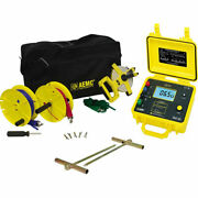 Aemc 4620 Kit-150ft 2135.19 Ground Resistance Tester Kit 150and039 Leads