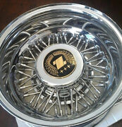 Zimmer Automotive Chrome Wheel Rim And Hubcap For Golden Spirit Fits Most 1980