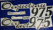 Ocqueteau Boats Emblem 975 33 + Free Fast Delivery Dhl Express- Sticker Decal
