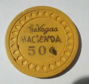 Hacienda Casino Las Vegas, Nevada .50 Cent Chip Great For Any Collection