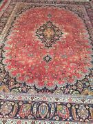 9andrsquo10 X 12andrsquo10andrdquo Pakistani Oriental Rug - Full Pile - Hand Made - 100 Wool
