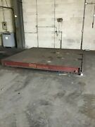 Floor Scale 100000 Lb Capacity 10and039 X 10and039 Heavy Duty