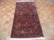 3and0396 X 6and0395 Hand Knotted Red Antique Fine Sarouk Oriental Rug G1803