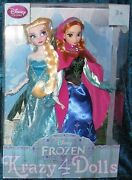 Disney Classic Frozen Doll Boxed Set Anna And Elsa New In Box