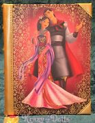 Disney Designer Fairytale Doll Collection Mulan And Li Shang Journal Le New