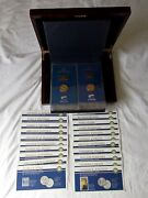 Usps The American Presidents Collection – 24 Kt Gold Plated Stamps And Medals