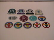 Lot /13 Illinois Dept Of Mines And Minerals Mining Safety Rescue Sticker Decals