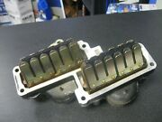Johnson Outboard Lower Intake Manifold 0437338 With Reeds 0397336