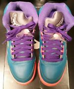 Preowned- Air Jordan V 5 Girls Basketball Shoes Size Us 4.5y 440892-307
