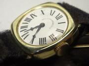 Antique 1920s Longines 14k Gold Ladys Roman Watch For Baileybanks And Biddle Runs