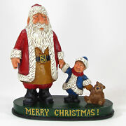 David Frykman Santa And Me 10 Figurine Df2015tb Limited Edition Signed 2015