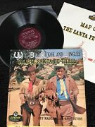 Wild Bill Hickok And Jingles On The Santa Fe Trail Vinyl Lp 4 Page Booklet 1956