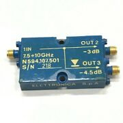 7.5-10ghz 3db / 4.5db Coaxial Directional Coupler