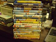 35 Childrens Animal Dvd Lot Disney Finding Nemo Brother Bear Rio Ice Age More
