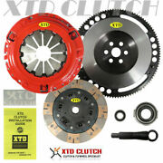 Xtd Stage 3 Dual Friction Clutch And Flywheel Kit 1990-1991 Civic Crx Cable Sohc