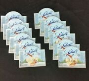 Lot Of 12 Schell's Light Beer Bottle Labels Blue Logo Eagle Brewery New Ulm Mn