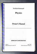 Manual For Sparcom Physics Pac For Hp 48sx/48gx Calculators