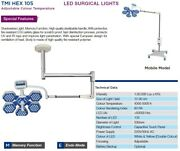 Led Surgical Ceiling Ot Light Multi Color With Memory Function Operating Lights@
