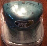 Bg Bottlecaps Autographed Hat Dale Jr Full Sign. Kelly And Kerry Earnhardt