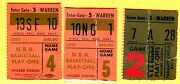3 1970and039s Nba Chicago Bulls Playoff Ticket Stubs
