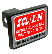 Family Lines System Railroad Logo Train Trailer Hitch Cover