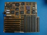 Pcc-8914022 Isa 386 Motherboard 2mb Ram Intel A80386dx-16 Cpu Tested