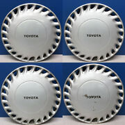 1988-1989 Toyota Celica Gt 61046 13 Hubcaps / Wheel Covers Used Set/4
