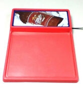Miller Red Beer Sign Lighted Bar Signs 1 Menu Board Special Rare Light Write Yq1