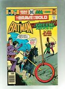 Brave And The Bold 129 And 130 Parts 1and2 Batman/joker/two Face High Grade 1976