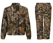 New Scent Blocker Axis Lightweight Hunting Jacket And Pant Mossy Oak Country