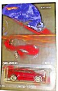 Red Tesla X Custom Hot Wheels With Real Rider Limited Edition Collectible