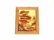 Real Natural Baltic Sea Canvas Art Wood Frame Paint Nr 4836