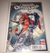 """Marvel Comics- The Amazing Spiderman 700 150 Variant """"death"""" Of Peter Parker"""