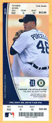 5/28/10 Tigers/a's Full Ticket-miguel Cabrera Hit 3 Homers