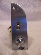 1966 Chrysler Imperial Power Window Switch W/ Bezel And Lighter Crown Lebaron