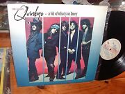 Quireboys A Bit Of What You Fancy Promo Lp Argentina 1989 Tracks Spanish Vg+/nm