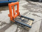Tractor Forks And Hitch Attachment 1.5ton Swl Fold Up Forks 3pl Forklift