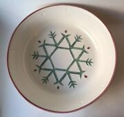Treasure Craft Noel Extra-large Serving / Salad Bowl - Perfect For Christmas
