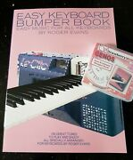 Easy Keyboard Bumper Book Usb And Music Book Set For Genos. Genos Software Set