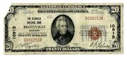 Boonville, Missouri Mo 20 National Bank Note, 1929 Series, Ty 1, Ch 10915