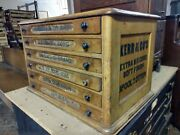 Kerr And Co Company Spool Cabinet Drawer Cabinet